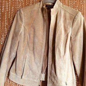 Valerie Stevens genuine leather jacket S